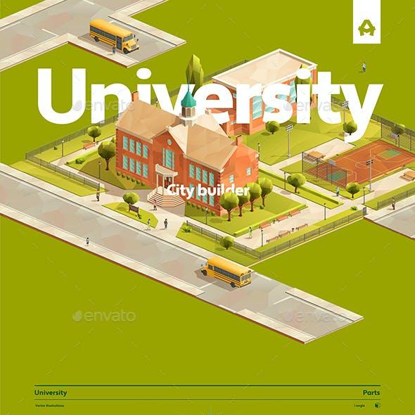 University City builder