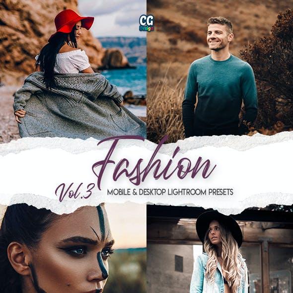 Fashion Lightroom Presets Vol. 3 - 15 Premium Lightroom Presets