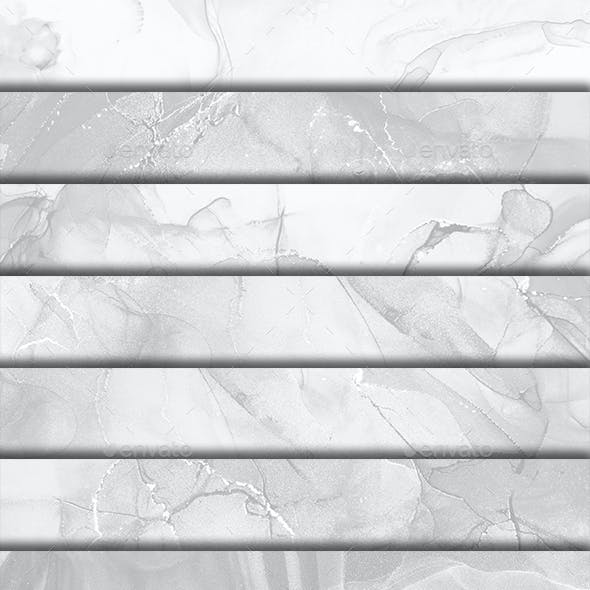 White Backgrounds Abstract Art Ink Shapes Surface Gray Textures