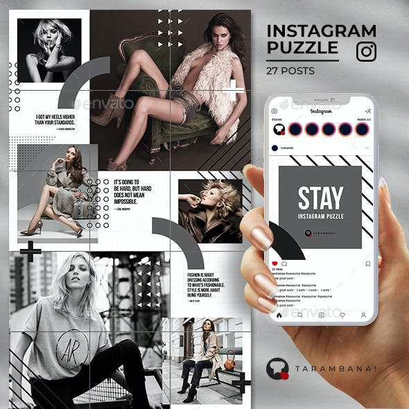 Stay - Instagram Puzzle Feed
