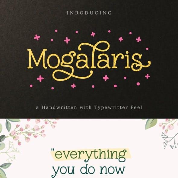 Mogalaris | Handwritten Font