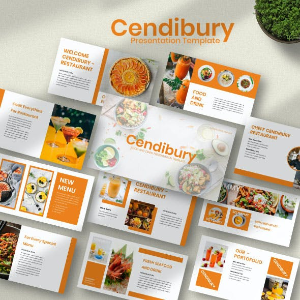Cendibury Keynote Template