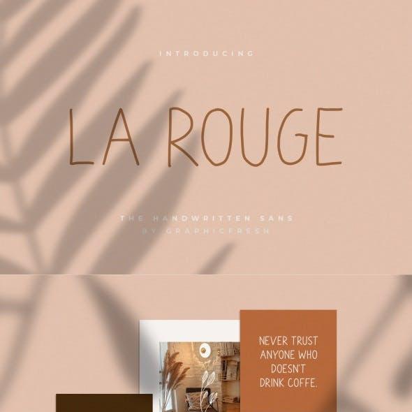 La Rouge – Handwritting Sans