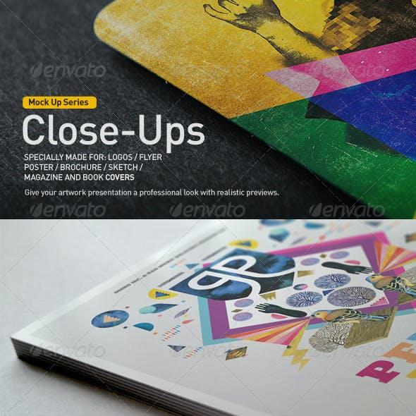Close-Up Mock-Up