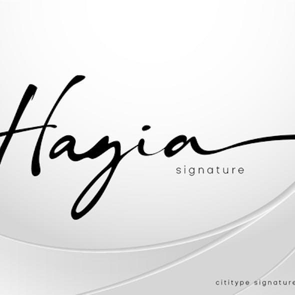 Hagia Signature
