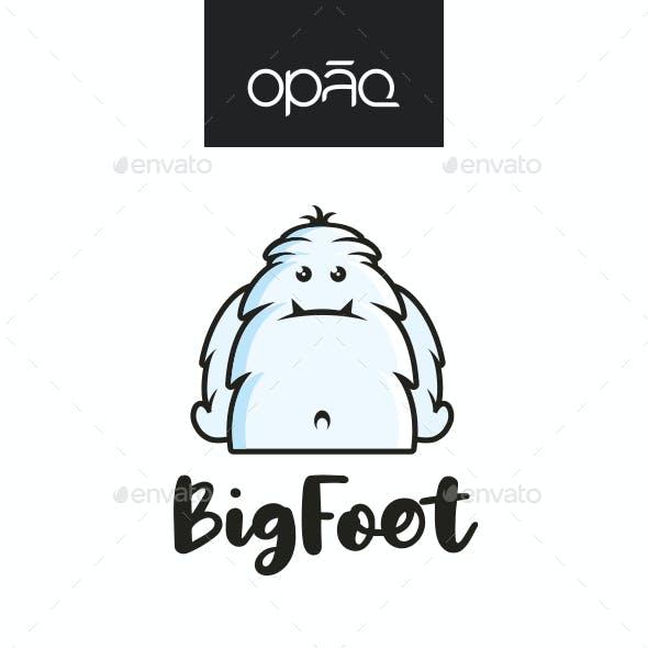 Big Foot Monster Logo