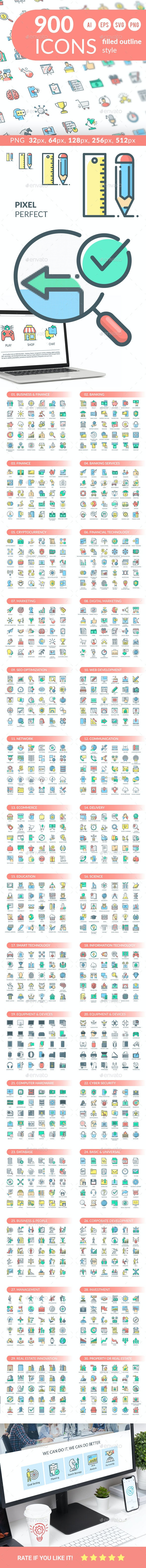 Icon Pack - Business Icons