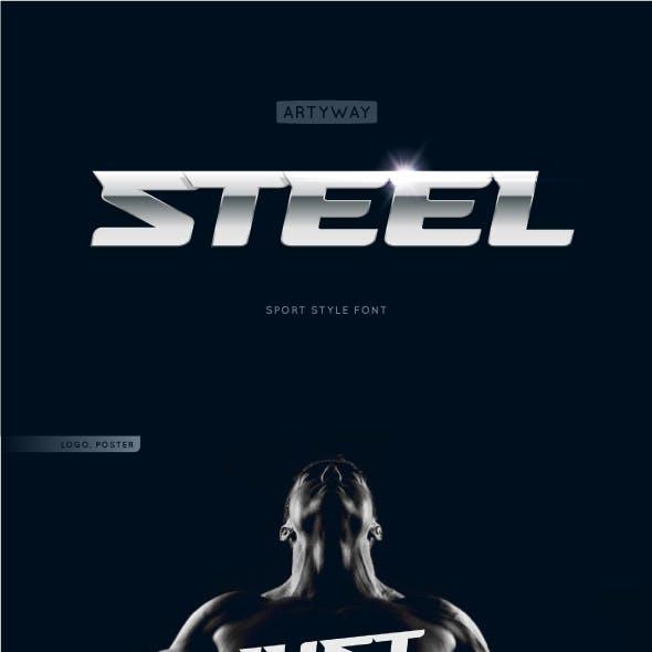 Headline Steel Font
