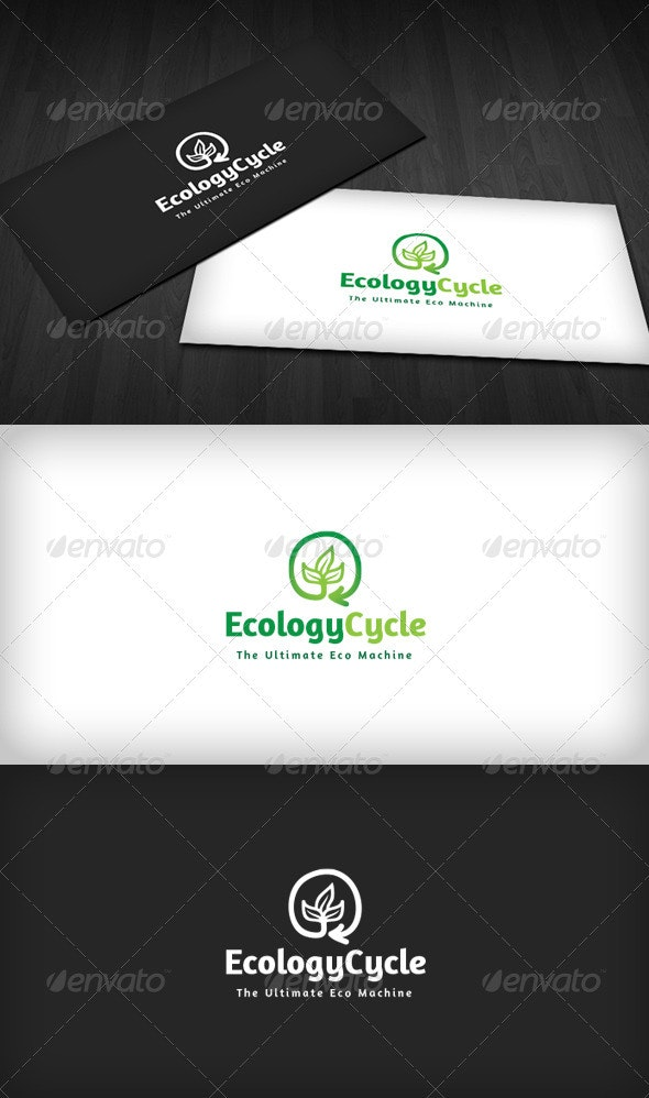 Ecology Cycle Logo - Nature Logo Templates