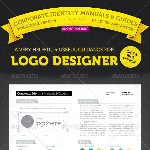 Brand Manuals & Guides - Single Page Version