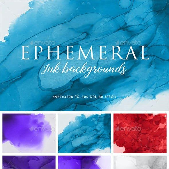 Ephemeral Ink Backgrounds