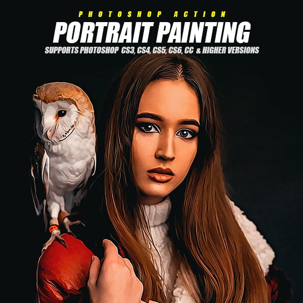 Portrait Painting Photoshop Action