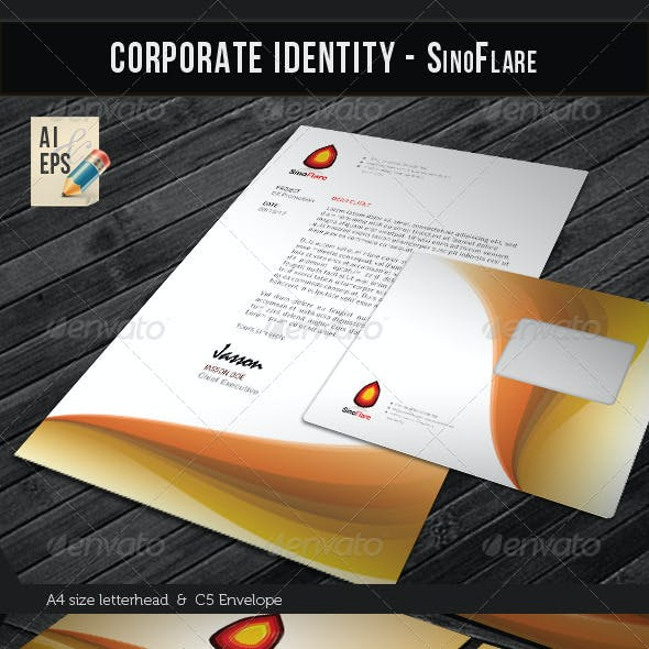 Corporate Identity Package - Sino Flare