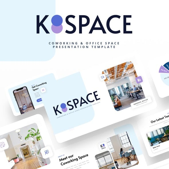 KOSPACE - Coworking & Office Space Powerpoint Template