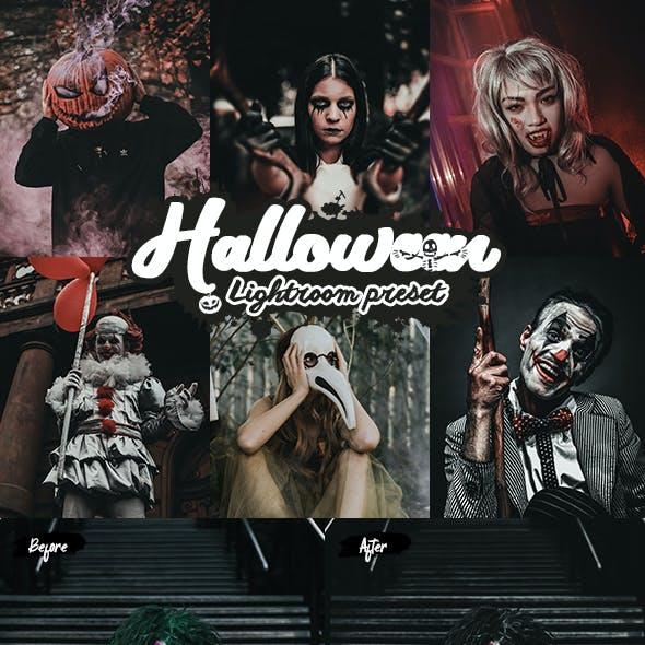 Halloween Lightroom Presets