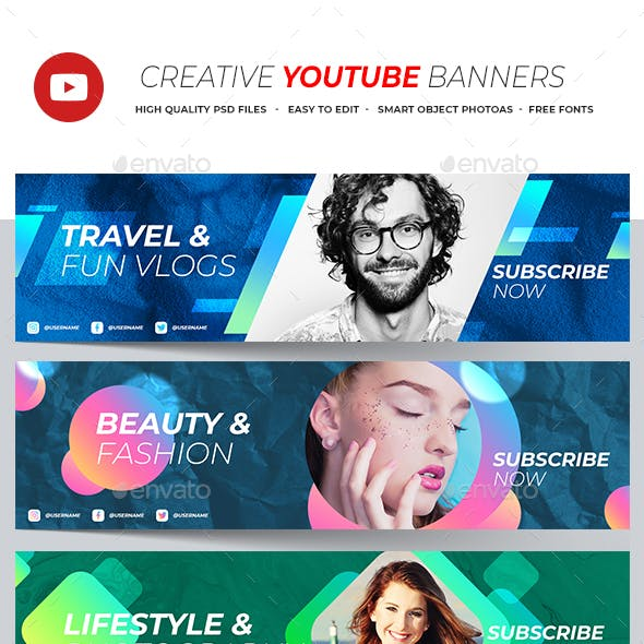 Creative Youtube Banner