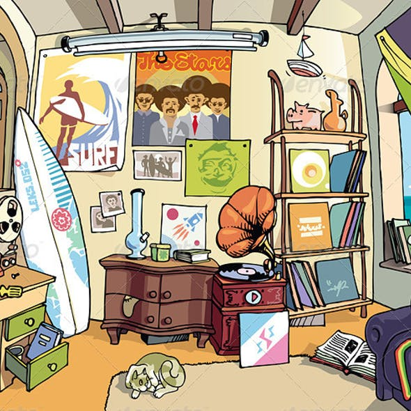 Surfer's Room