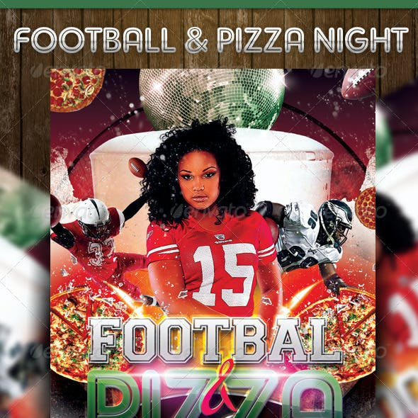 Football & Pizza Nights Party