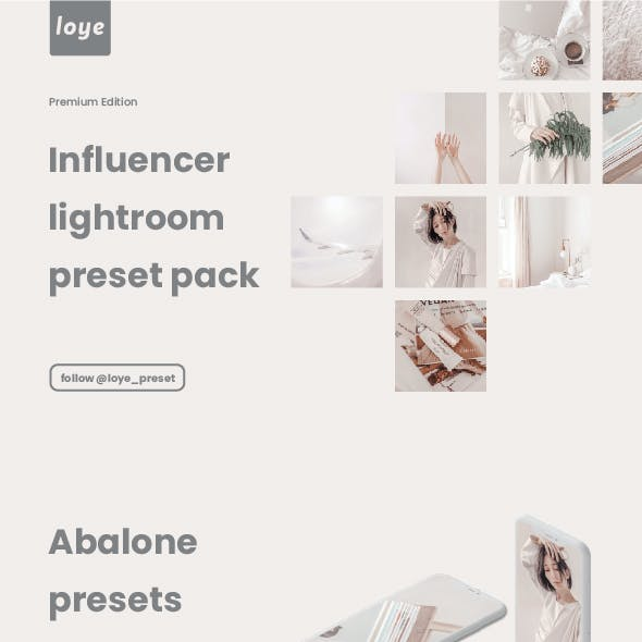 Lightroom Presets - Abalone - by LOYE preset