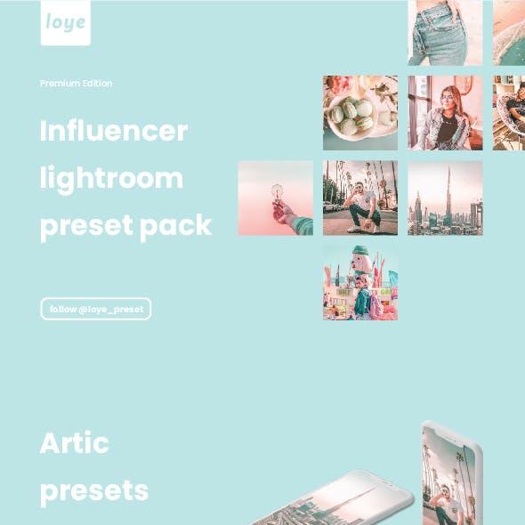 Lightroom Presets - Artic - by LOYE preset