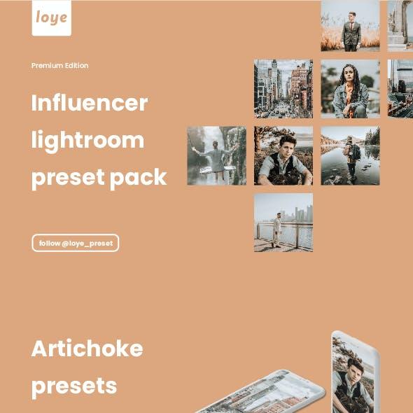 Lightroom Presets - Artichoke - by LOYE preset