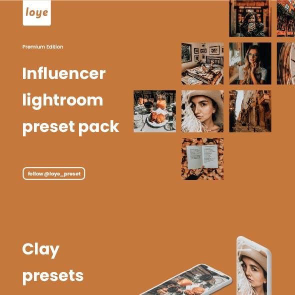 Lightroom Presets - Clay - by LOYE preset