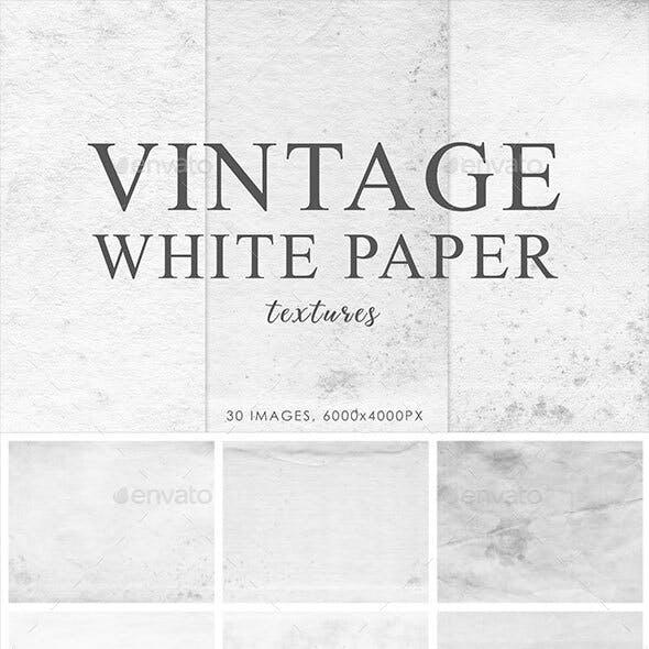 White Vintage Paper Textures 1