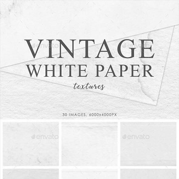 White Vintage Paper Textures 2