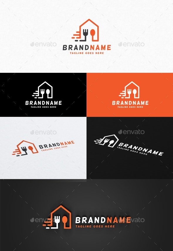 Food Delivery Logo - Food Logo Templates