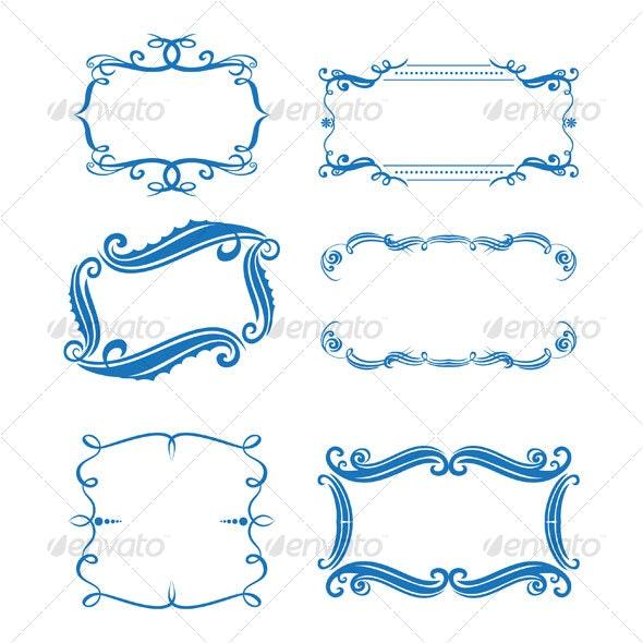 Frames design - Decorative Symbols Decorative