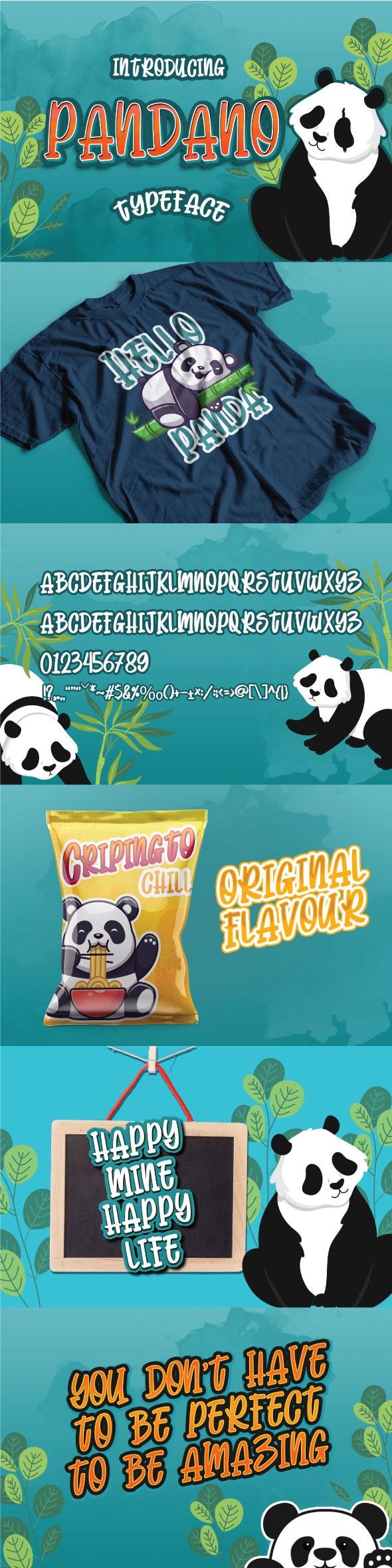 Pandano - Comic Decorative