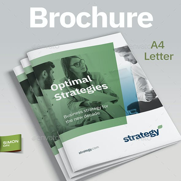 Strategy Brochure Template