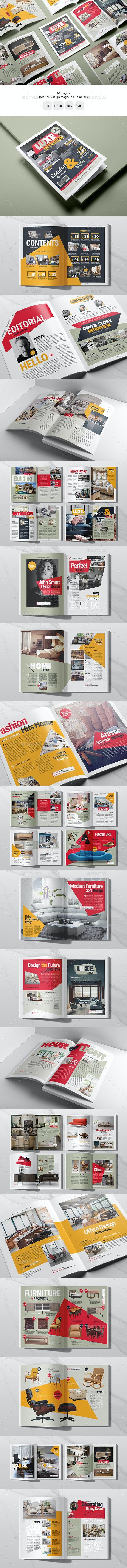 Furniture / Interior Design Magazine - Magazines Print Templates