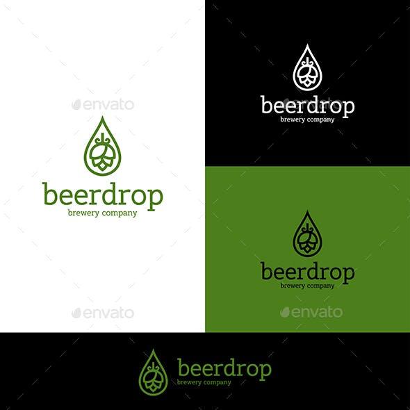 Beer Hop Logo and Drop