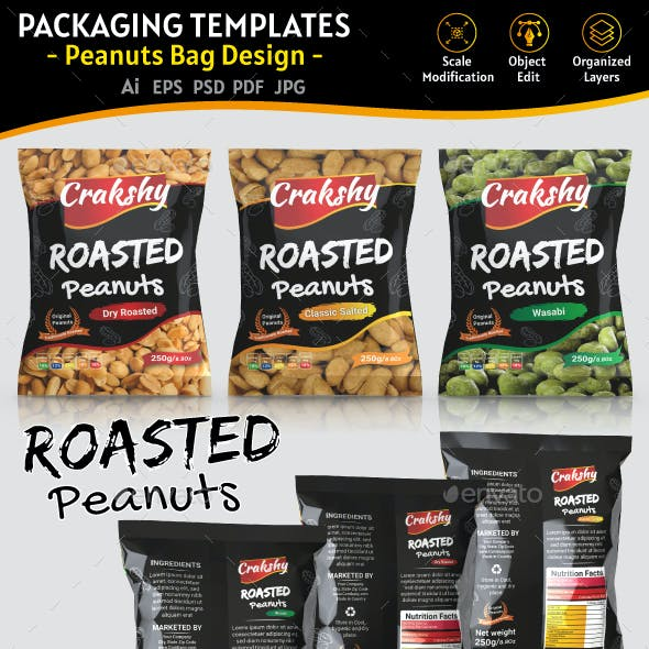 Peanuts Packaging Templates
