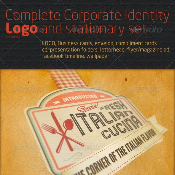 Complete Corporate Identity Logo and stationary se
