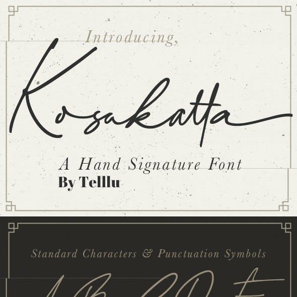 Kosakatta Signature