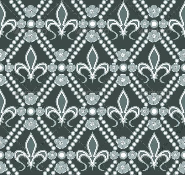 Fleur de lis pattern - Patterns Decorative