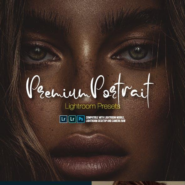 Premium Portrait Lightroom Presets