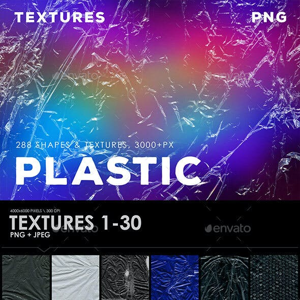 288 Plastic Overlays, Shapes, Textures