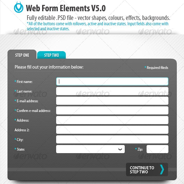 Web Form Elements v5.0 by VO