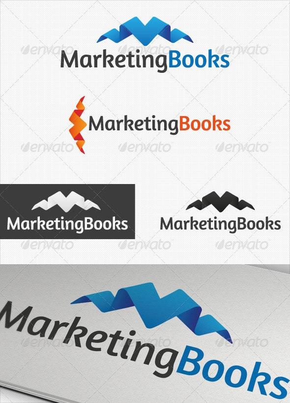Marketing Books Business logo - Symbols Logo Templates