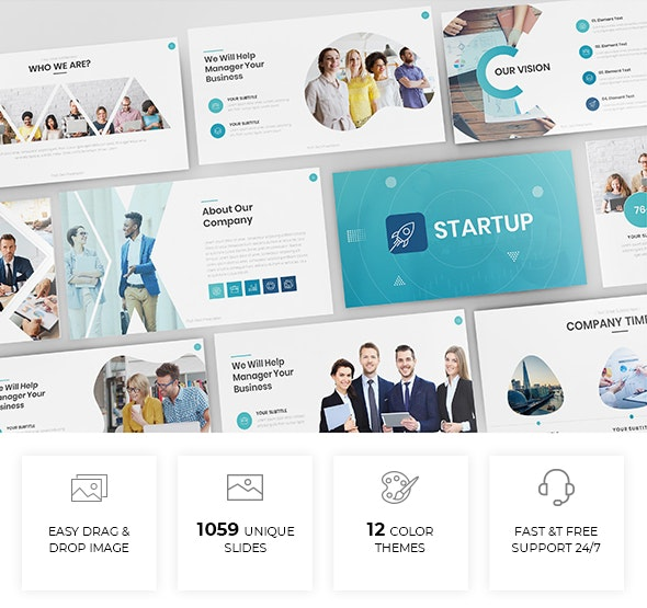 Simple & Modern Business Powerpoint Template - Business PowerPoint Templates