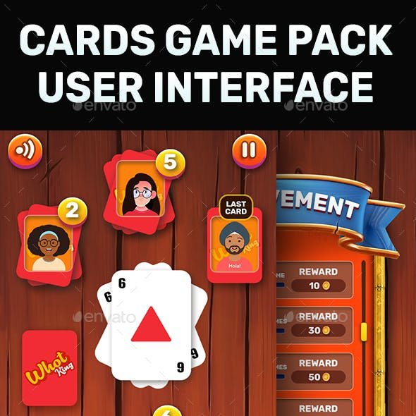 Card Game GUI Kit (Solitaire)
