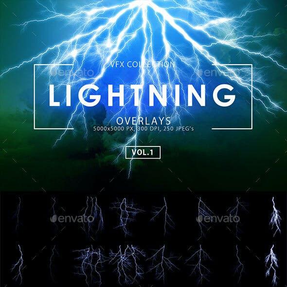 250 Lightning Overlays