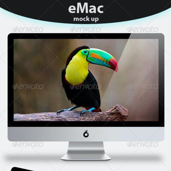eMac Mock up
