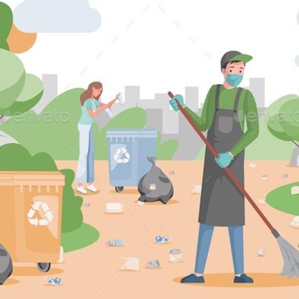 People Clean Park