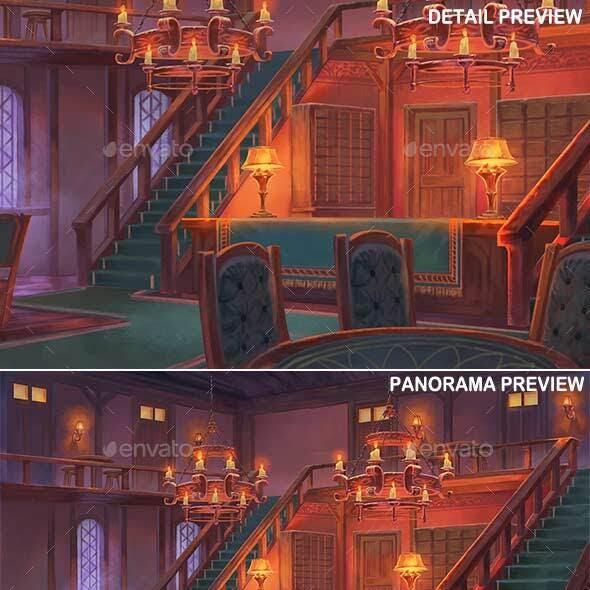 Inn Interior - Game Background