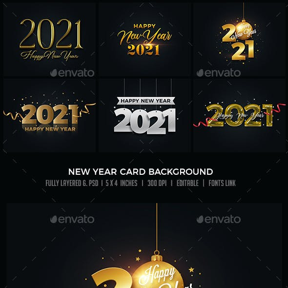 New Year Cards / Backgrounds
