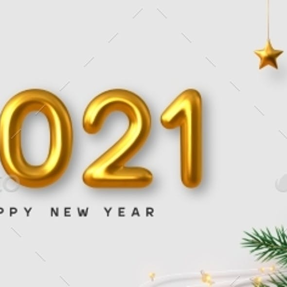 2021 New Year Banner.